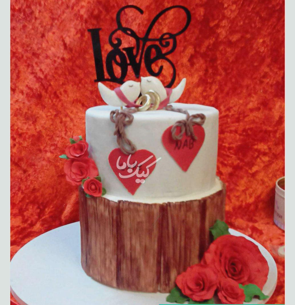 love-romantic-cake-wedding-fondant-cake-www.cakebama.com