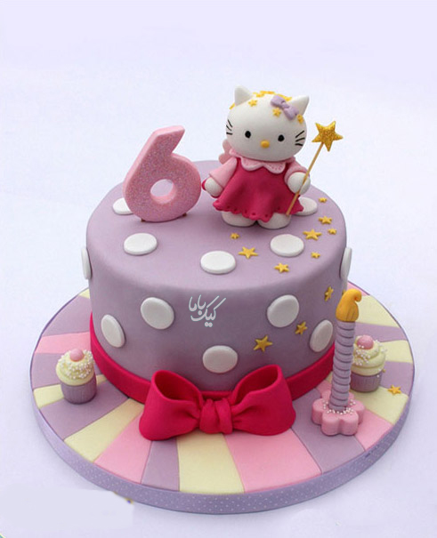 Kitty-Birthday-cake-for-girl-www.cakebama.com