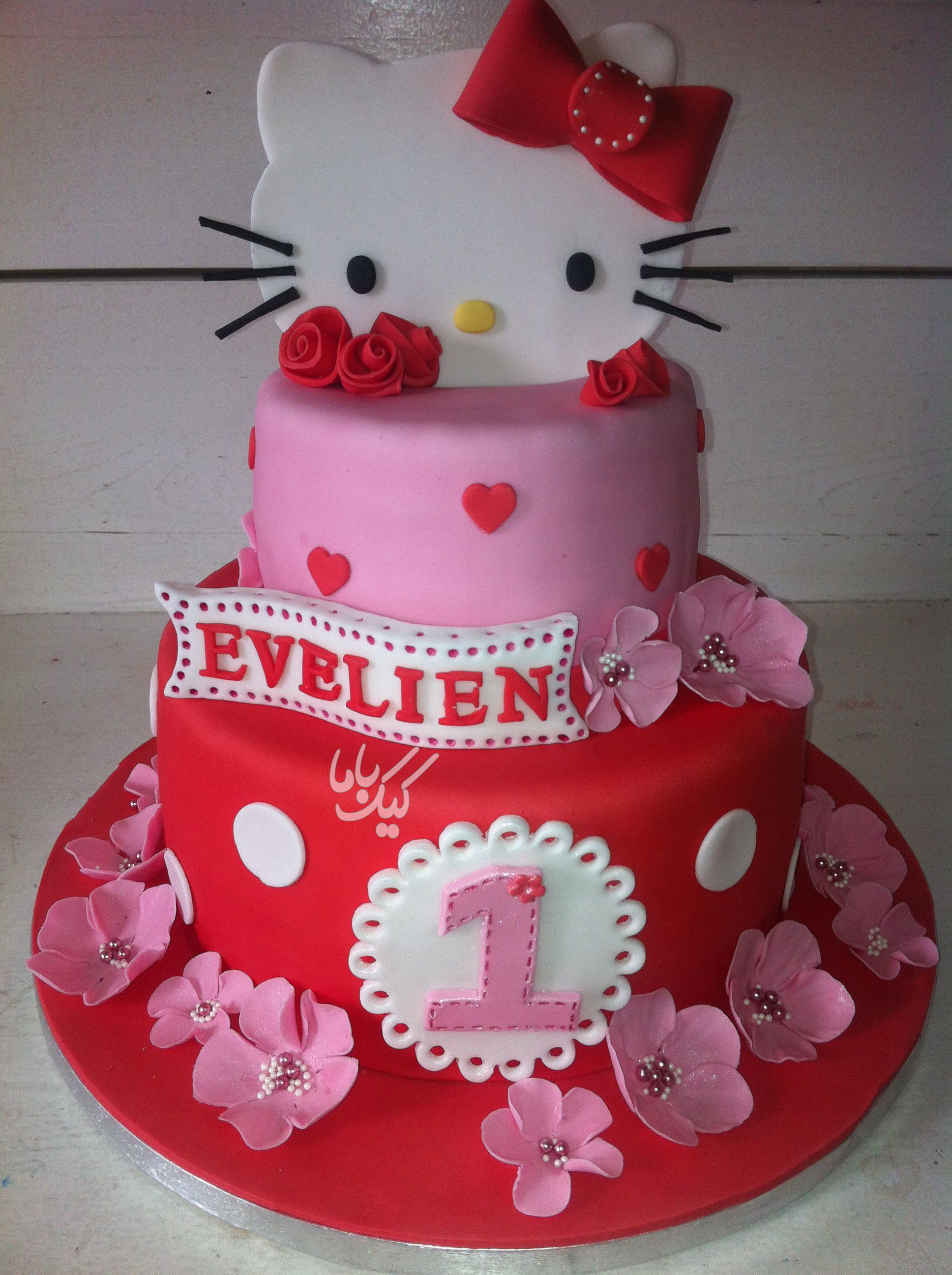 cute-Kitty-Birthday-cake-for-girls-www.cakebama.com-