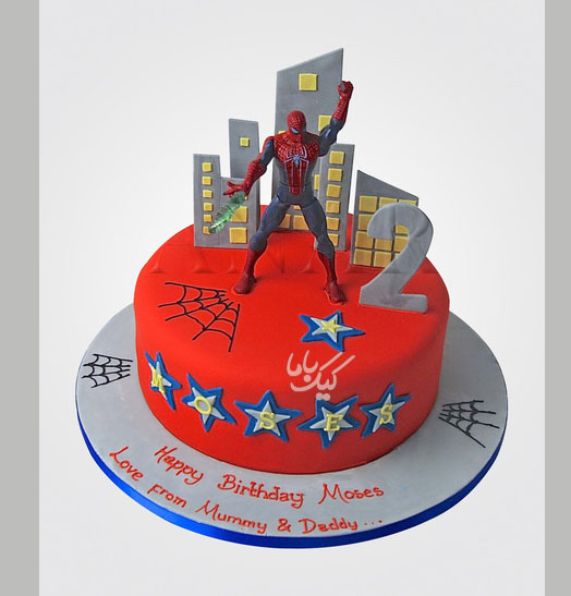 spiderman-birthday-cake-for-boys-fondant-cake-www.cakebama.com