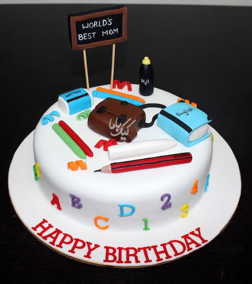 teacher-birthday-cake-teacherday-cake-www.cakebama.com