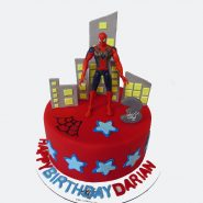 spiderman-boys-birthday-fondant-cake-www.cakebama.com